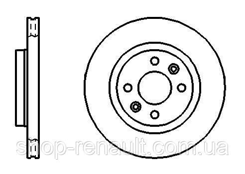 Диск тормозной вентилируемый 259 мм  PROFIT - 5010-1096