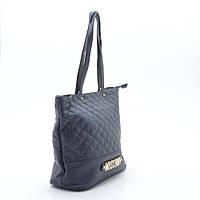 Женская стеганая сумка синяя MOSCHNIV