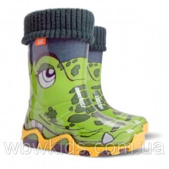 Гумові чобітки (резиновые сапоги) Demar Крокодил