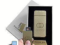 """Спиральная USB-зажигалка """"Gucci"""" №4796A-5, отличный подарок по любому поводу друзьям, коллегам, модный девайс"""
