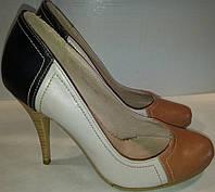 Туфли женские р37 FERLISA бежевые BOGI