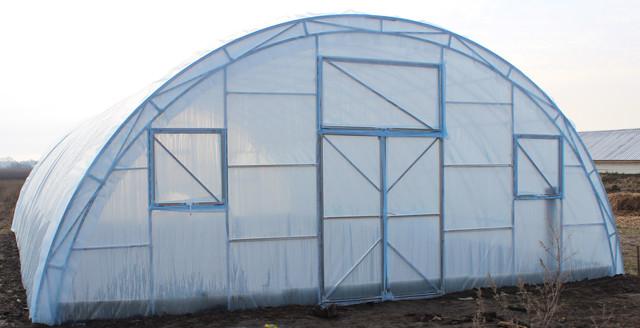 Фермерская теплица Урожай 6+ под двойную пленку