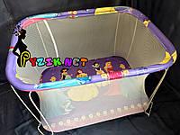 """Манеж детский с мелкой сеткой Kinderbox """"Принцессы"""", фото 1"""