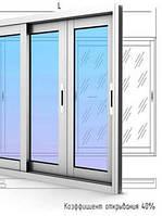 Раздвижные металопластиковые окна, балконы, лоджии, перегородки