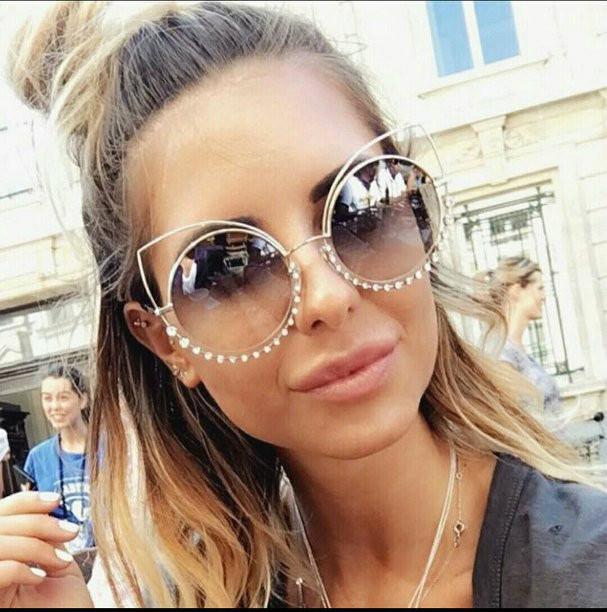 48d258e09f7b Женские очки круглые Marc Jacobs новинка коричневые - интернет-магазин