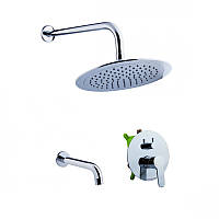 Potato P3310-2 Душевая панель скрытого монтажа ванна душ
