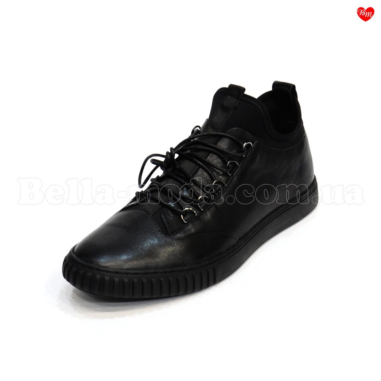 7e59c0ec9ab Мужские высокие кроссовки кожа стрейч Cosottinni - интернет-магазин