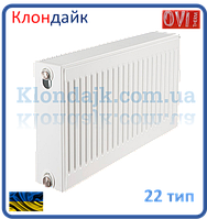Стальной панельный радиатор 22К 500*700 OVI (Украина)