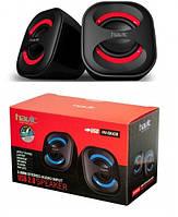 Акустические колонки HAVIT HV-SK430 USB Red