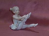 """""""Юная балерина"""" фарфоровая фигурка VS-149 , 9 см высота"""