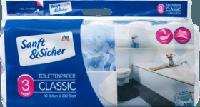 Туалетний папір 3-шаровий, 10x200 листів Sanft&Sicher Toilettenpapier 3-lagig, 10x200 Blatt, 2000 Bl