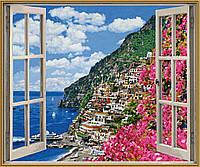 """Художественный творческий набор """"Амальфитанское узбережье"""". Картины по номерам Schipper 936 0724"""