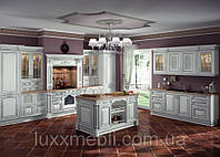 Элитные кухни из дерева в Киеве, кухни премиум класса из массива дерева в Киеве, фото 1