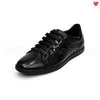 Мужские туфли с лаковыми вставками Basconi
