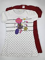 Платье туника летнее для девочки Турция