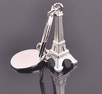 Брелок в виде Эйфелевой башни металл серебристый SKU0000691, фото 1