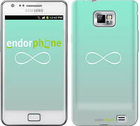 """Чехол на Samsung Galaxy S2 Plus i9105 Знак бесконечности """"3204c-71"""""""