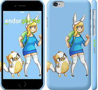 "Чехол на iPhone 6s Adventure Time. Fionna and Cake ""2442m-90"""