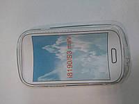 Накладка силиконовая для телефона Samsung I8190\I8200 Galaxy S3 mini прозрачный
