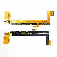 Шлейф Sony E6603 Xperia Z5/ E6653/ E6683 с кнопкой включения, громкости и вибро