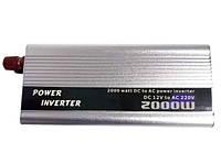Преобразователь инвертор Doxin 12v-220v 2000W