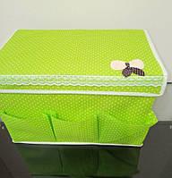 Короб - кофр, органайзер с кармашками, для вещей и мелочей