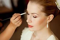 Свадебный макияж + пучковые ресницы