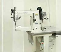 Швейная машина для пришивания подошвы и пошива мокасин