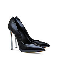 Casadei patent leather shoes black