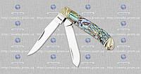 Складной нож подарочный (эксклюзив) 27152 CST ракушка мрамор (складной) MHR /0-11