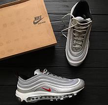 """Мужские и женские кроссовки Nike Air Max 97 """"Silver Bullet"""" Рефлективные (Топ реплика ААА+), фото 3"""