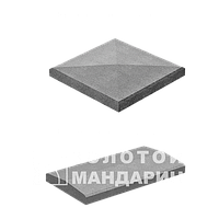 Колотый блок 400х200х200