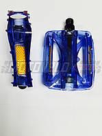 Педали для горного велосипеда (поликарбонат),mod:JD-185 (#MD) цвет:синий