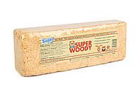 """""""Super Woody"""" прессованная натуральная подстилка для грызунов, 4л"""