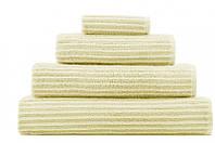 Элитное полотенце в полоску с антибактериальной защитой бамбук + тенцель