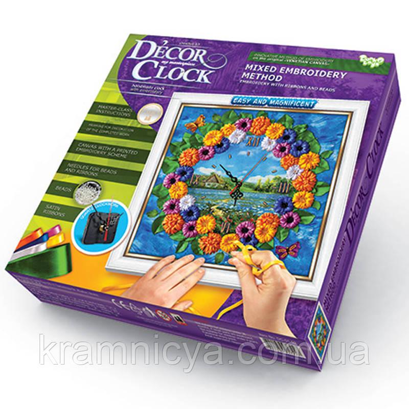 Часы Decor Clock 'Герберы' (DС-01-02)