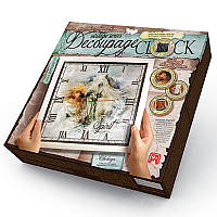 Decoupage Clock з рамкою 'Spirit'