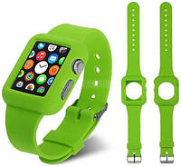 Ремень для Apple Watch Apple Watch 38mm Soft Silicon Band - Green