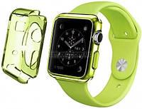 Ремень для Apple Watch Apple Watch 38mm TPU Case - Clear Green