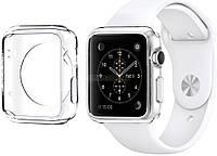 Ремень для Apple Watch Apple Watch 38mm TPU Case - Clear