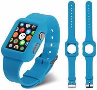 Ремень для Apple Watch Apple Watch 42mm Soft Silicon Band - Blue