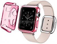 Ремень для Apple Watch Apple Watch 42mm TPU Case - Solid Red