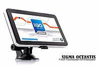 Умный GPS навигатор 7д  Sigma Octanti  2 ядра. Супер быстрый