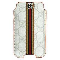 Чехол Case Gucci White iPhone 4/3GS (A09)