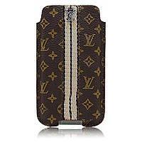 Чехол Case Louis Vuitton Monogram Brown iPhone 4/3GS (A01)