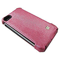 Чехол Clasy Ribbed Flip Top PINK for iPhone 4/4s