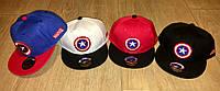"Кепки с логотипом ""капитан Америка"""