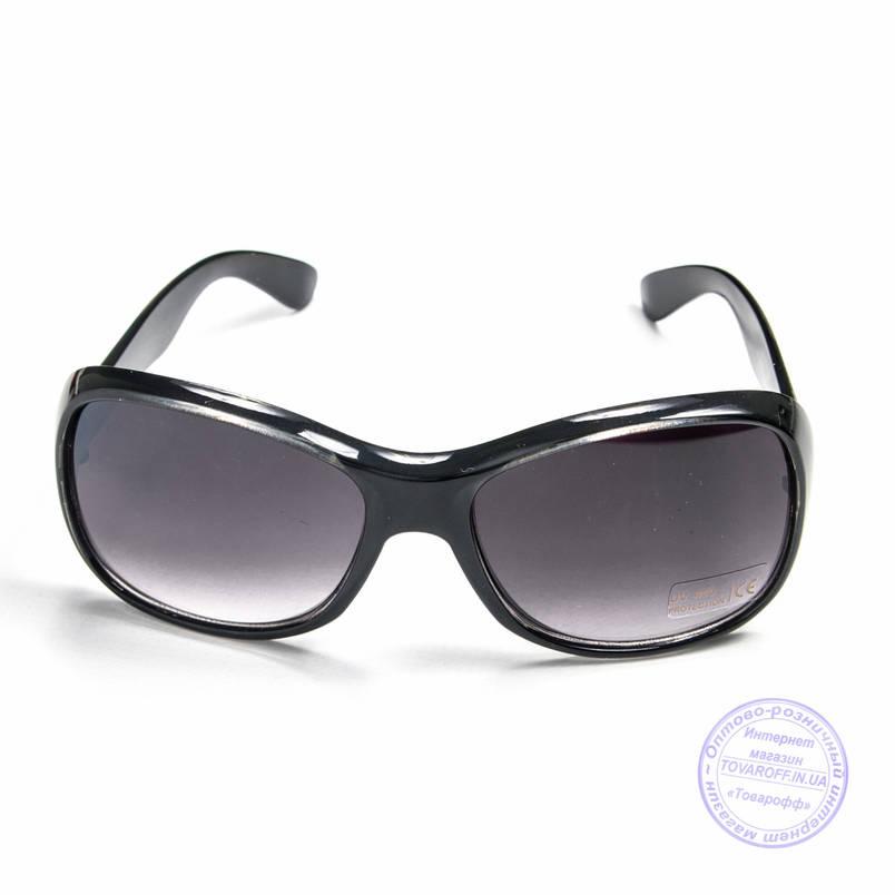 Розпродаж жіночих сонцезахисних окулярів - Чорні - B922, фото 2