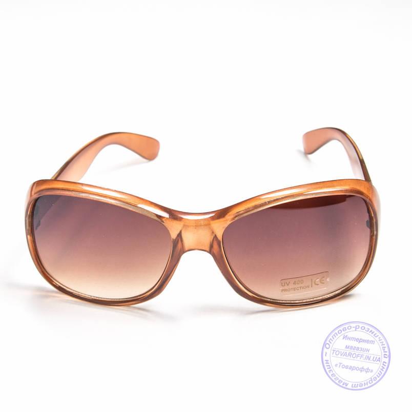 Оптом женские солнцезащитные очки - Коричневые - B922, фото 2