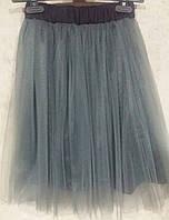 Детская подростковая юбка миди для девочки на  12 , 13 , 14 , 15 лет